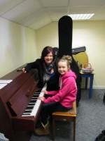 Fiona Teaching Music Theory Lesson